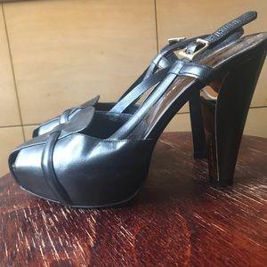 Barbara Bui Chocolate Brown Slingback Heels